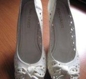 Кожаные туфельки
