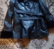 Куртка женская новая турецкая.Очень мягкая кожа