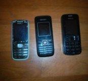 Старенькие телефоны на запчасти