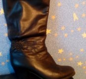 Сапоги зимние европейки, ботинки осенние
