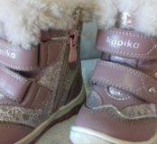 Зимние сапоги на девочку Капика