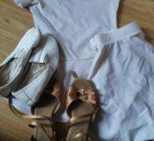 Купальник туфли чешки юбка для танцев б.у
