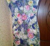 Летнее  платье б\у в хорошем состоянии