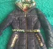 Осенняя женская куртка 44 размер