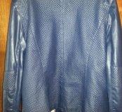 Куртка синяя, короткая