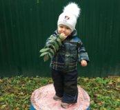 Детский комбинезон + шапка в подарок