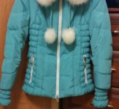 Продам теплую зимнюю куртку