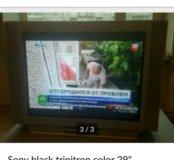 Телевизор Sony black trinitron 29''
