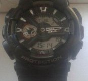 Продам оригинальные часы casio g-shock110