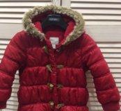 Куртка для девочки б/у 3-4 года