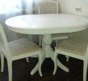 Комплект:стол и 4 стула