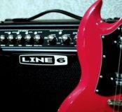 Гитарный комбо-усилитель Line 6 Spider IV 15