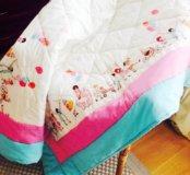 Детское одеяло ручной работы