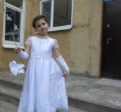 Платье для утренника 7-10 лет