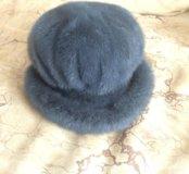 Солидная женская шапка из натурального меха