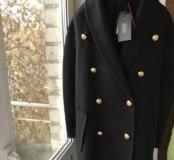 Пальто из коллекции h&m balmain