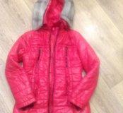 Куртка зимняя детская 10-12 лет