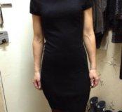 Платье трикотажное с карманами приятное к телу