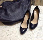 Туфли натуральный лак очень красивые