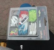 Новый рыболовный набор 45 предметов