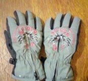 Зимние перчатки 2 года