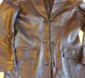 Кожаная куртка (френч)