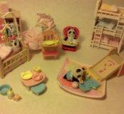 Sylvanian families детскя комната