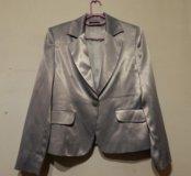 Пиджак шелковый