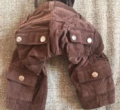 Вельветовые штанишки на собачку