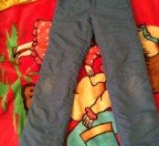 Утеплённые зимние брюки