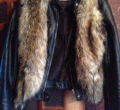 Куртка- косуха кожаная