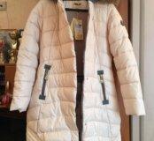 Пальто белое (кремовое)