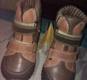 Новые с ценником ботиночки котофей