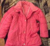 Куртка тёплая на девочку