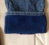 джинсы утеплённые