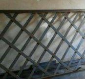 Решетка дверь металлическая