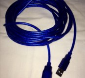 Удлинитель USB 2.0, 5м