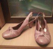 Туфли кожанные размер 38
