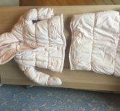 Комплект зимняя Куртка комбинезон