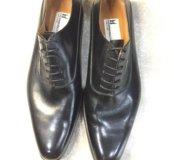 Мужские туфли на шнуровке moreschi