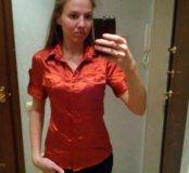 Шелковая блузка размер 42-44