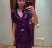 Шелковое платье размер 42-44
