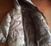 Куртка бенеттон зима