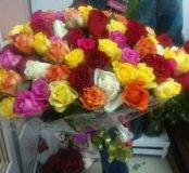 Микс 101 розы