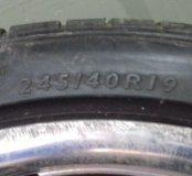 Диски колёсные с резиной на бмв 5 серии