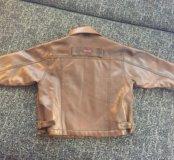 Коженная куртка Детская
