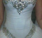 Продам новое свадебное платье! Размер 42-46