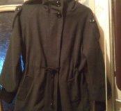 Легкое пальто с капюшоном