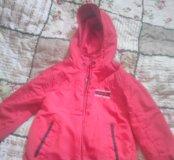 Куртка двусторонняя. Размер 98-104