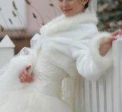 Свадебная шубка-балеро